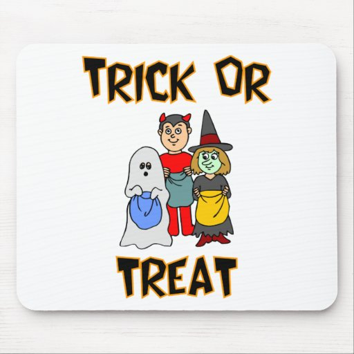 Trick Or Treat (Trick-Or-Treaters) Mousepad