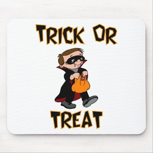 Trick Or Treat (Vampire Costume) Mousepad
