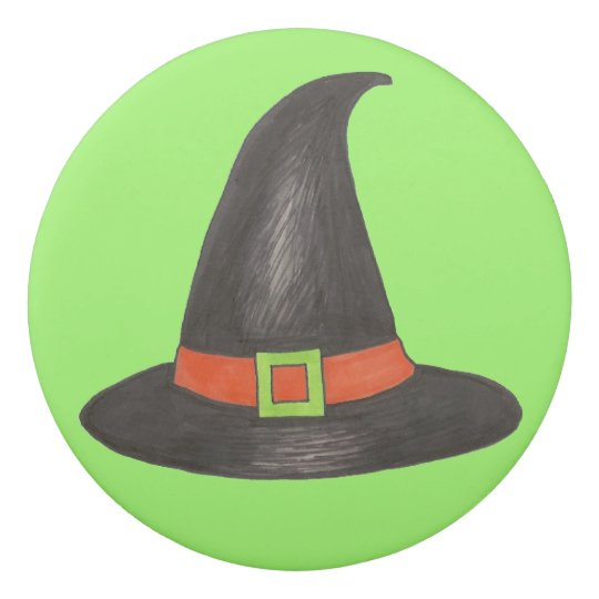 Trick or Treat Witch Hat Halloween Party Favour Eraser
