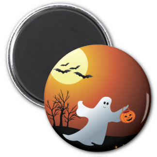 TrickOrTreat two Button 2 Inch Round Magnet