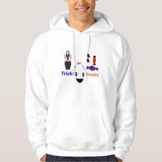 Tricks or Treats Halloween Hooded Pullover