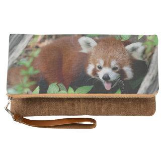 Tricksy Red Panda Clutch