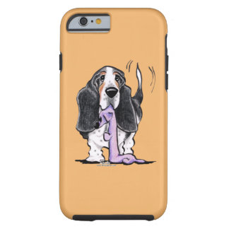 Tricolor Basset Hound Lets Play Tough iPhone 6 Case