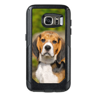 Tricolor Beagle Dog Puppy Photo on Commuter-Case OtterBox Samsung Galaxy S7 Case
