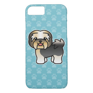 Tricolor Cartoon Havanese iPhone 8/7 Case