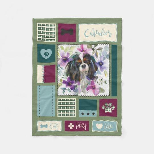 Tricolor Cavalier blanket | Small