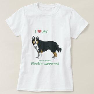 tricolor Finnish Lapphund shirt - lapinkoira