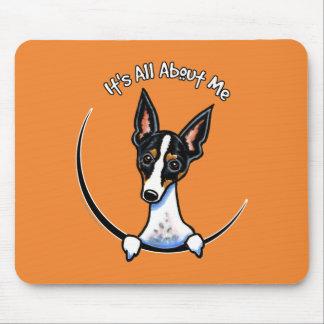 Tricolor Rat Terrier IAAM Mouse Pad