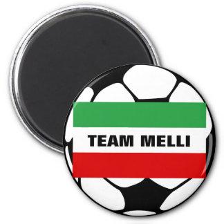 "Tricolor ""TEAM MELLI"" Magnet"