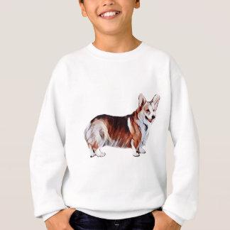 Tricolor Welsh Corgi.PNG Sweatshirt