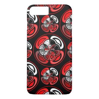 Tricolored geometric pattern iPhone 7 plus case
