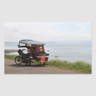 Tricycle at the San Pedro Bay