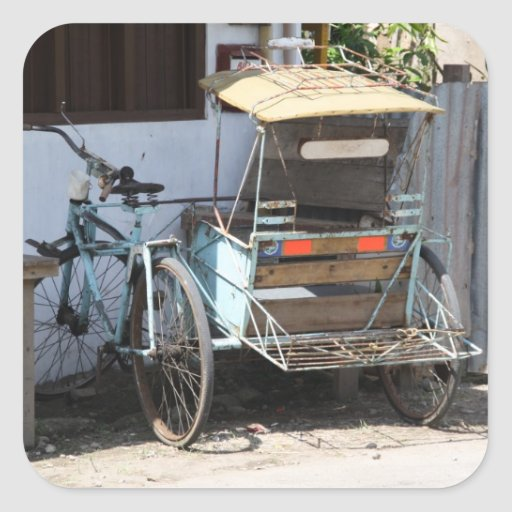 Tricycle Stickers