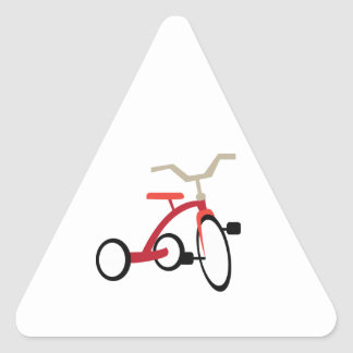 Tricycle Triangle Sticker