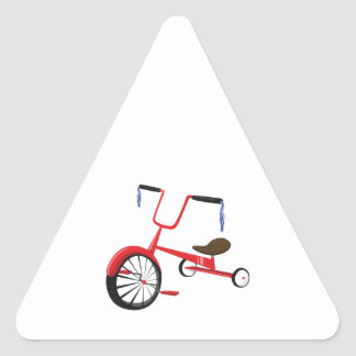 Tricycle Triangle Stickers