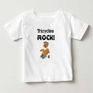 Tricycles Rock! Baby T-Shirt