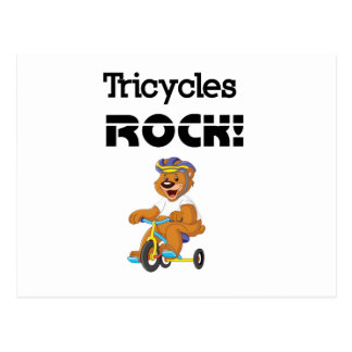 Tricycles Rock! Postcard
