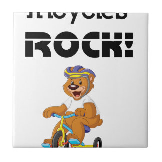 Tricycles Rock! Tile