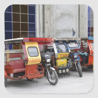 Tricycles Square Stickers
