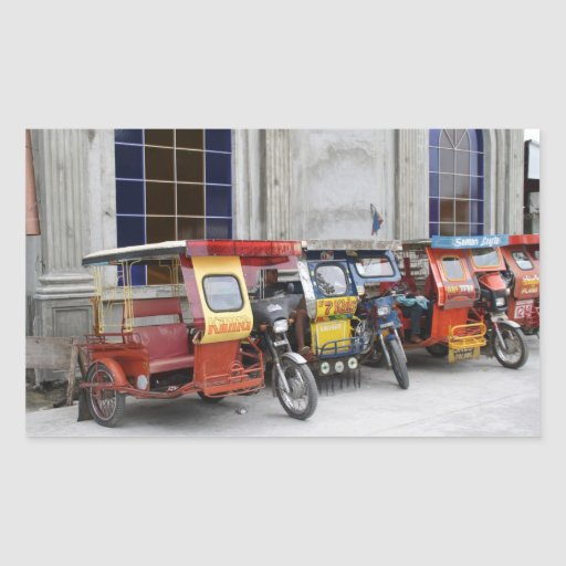 Tricycles Stickers