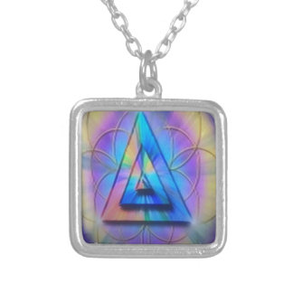 Tridelta Silver Plated Necklace