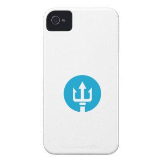 Trident Circle Icon Case-Mate iPhone 4 Case