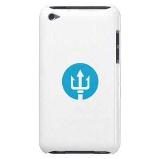 Trident Circle Icon iPod Case-Mate Case