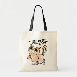 Trident the Cat Character Tote 01