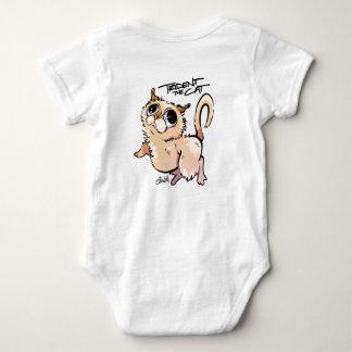 Trident the Cat Unisex Baby Jumpsuit Baby Bodysuit