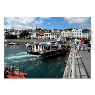 Trident V, St Peter Port, Guernsey Card