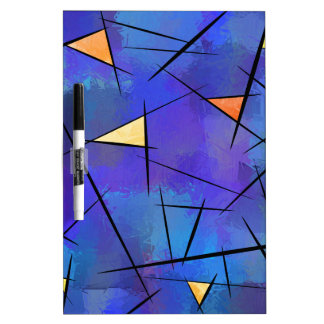 Tridiussos V1 - digital abstract Dry Erase Boards
