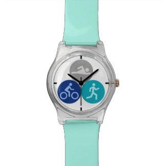 Tridots watch teal