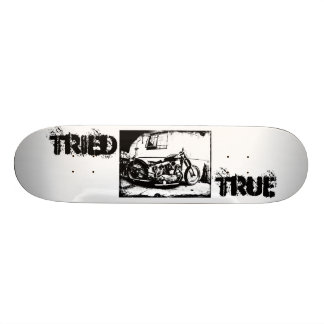 Tried & True Customs Harley Skate Deck