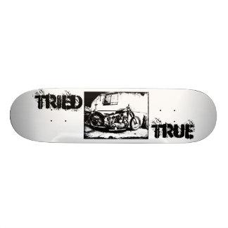 Tried & True Customs Harley Skate Deck