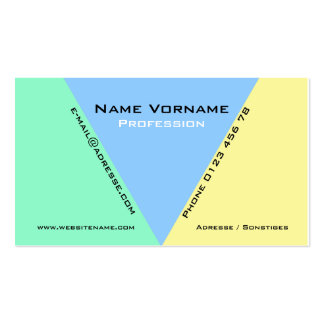 trifish business cards
