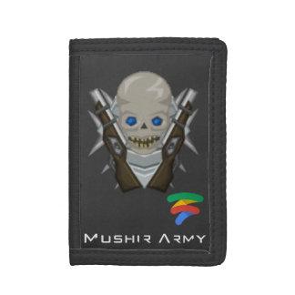 TriFold Nylon Wallet (Mushir Army)