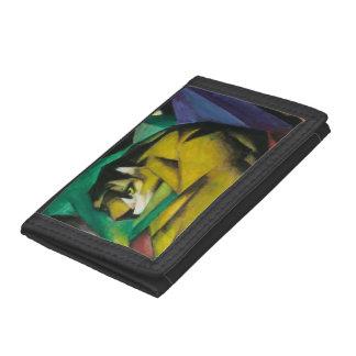 Trifold Wallet Nylon Franz Marc Tiger