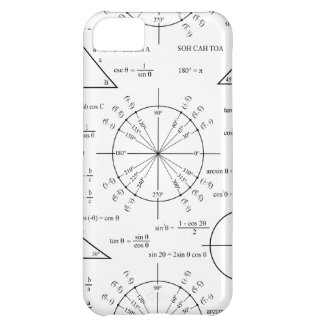 Trig & Triangles iPhone 5C Cover