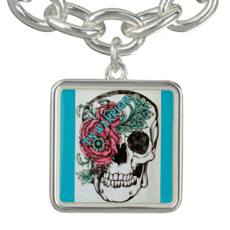Trigeminal Neuralgia Awareness Jewelry Charm Bracelets