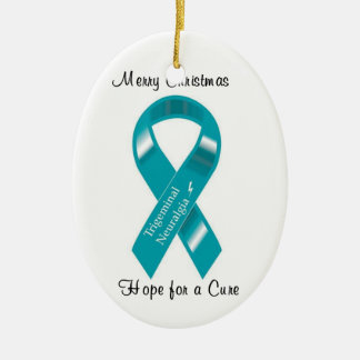 Trigeminal Neuralgia Hope for a Cure Ornament