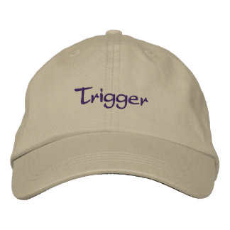 Trigger Embroidered Hat