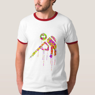 trigger happy Multi-Splat T-Shirt