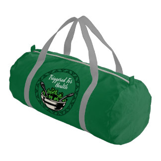 Triggered For Health Duffle Bag