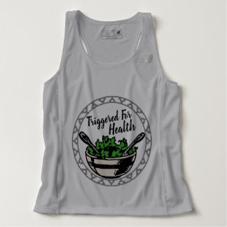 Triggered For Health Mens Running Tank