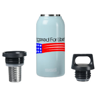 Triggered For Liberty Insulated Tumbler Insulated Water Bottle