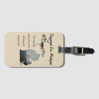 Triggered For Michigan Luggage Tag