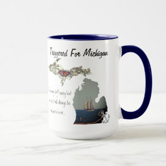Triggered For Michigan Mug
