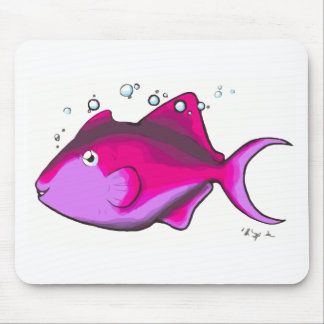 Triggerfish! Mouse Pad