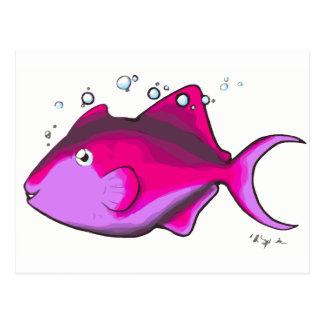 Triggerfish! Postcard