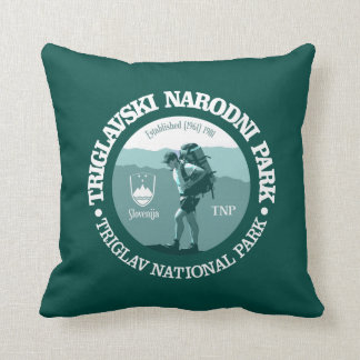 Triglav National Park Throw Pillow